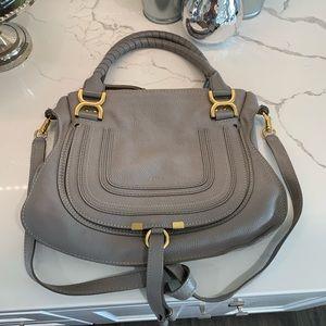 Chloe medium Marcie leather satchel bag 🎀